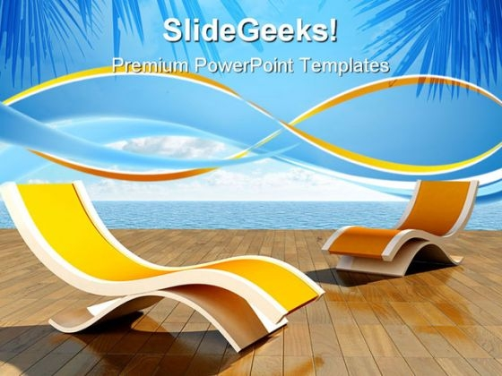 Relax Beach PowerPoint Templates And PowerPoint Backgrounds 0611