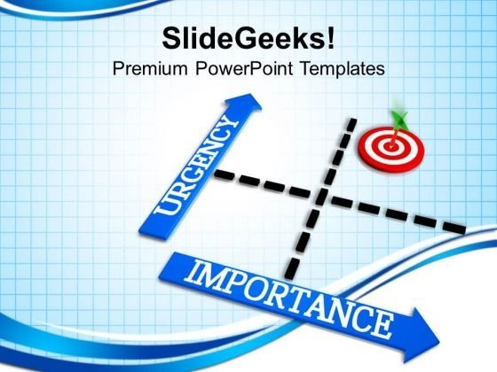 Rgency And Importance Management Matrix PowerPoint Templates Ppt Backgrounds For Slides 0413