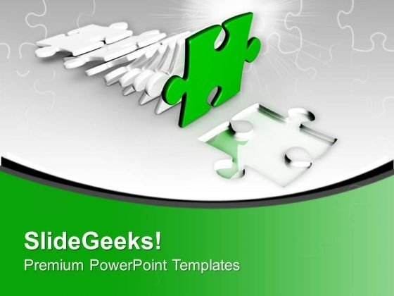 Right Solution For Business Problem PowerPoint Templates Ppt Backgrounds For Slides 0413