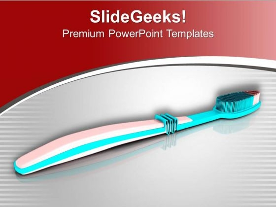 Right Toothbrush Selection Is Compulsary PowerPoint Templates Ppt Backgrounds For Slides 0713