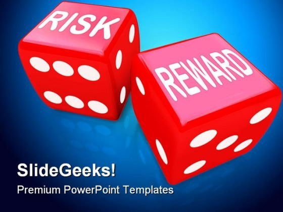 Risk Reward Finance PowerPoint Backgrounds And Templates 1210