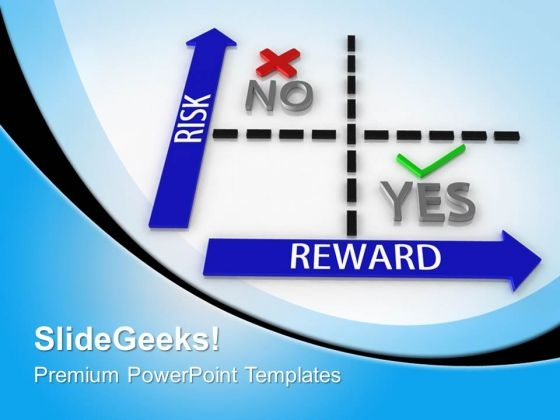 Risk Vs Reward Matrix Targets PowerPoint Templates And PowerPoint Themes 0812
