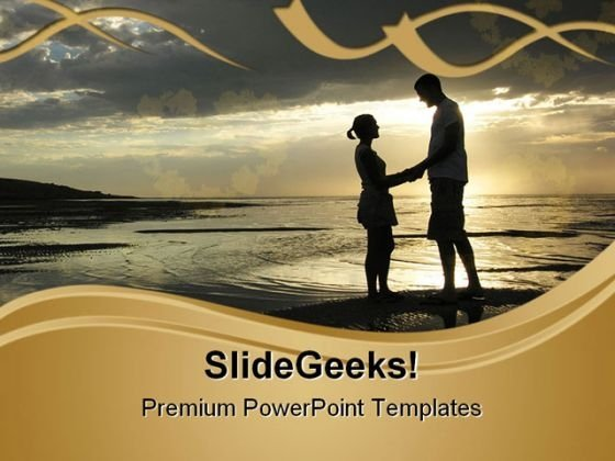 Romantic Couple Youth PowerPoint Themes And PowerPoint Slides 0811