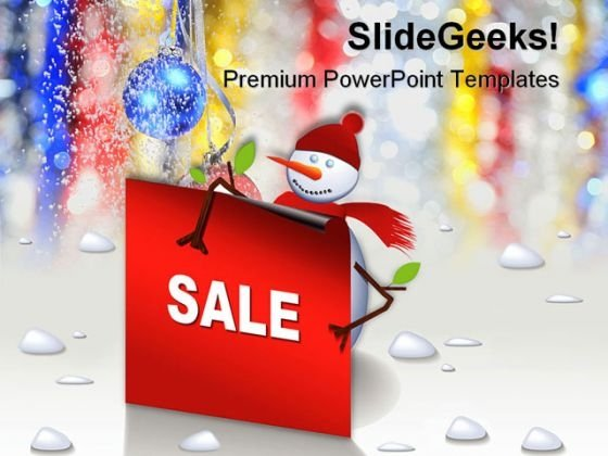 Sale Christmas PowerPoint Templates And PowerPoint Backgrounds 0511