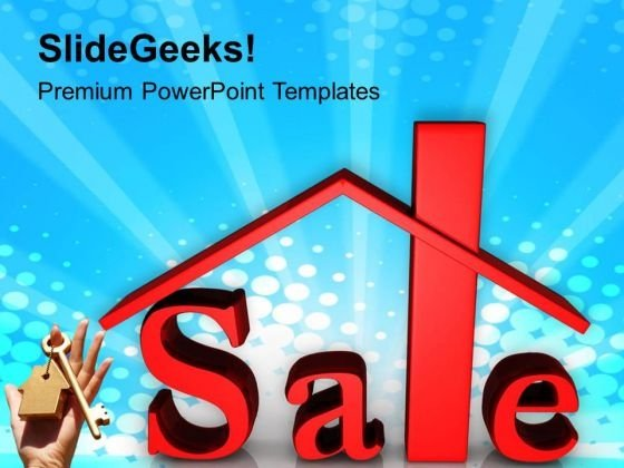 Sale Of Property Real Estate PowerPoint Templates Ppt Backgrounds For Slides 0413