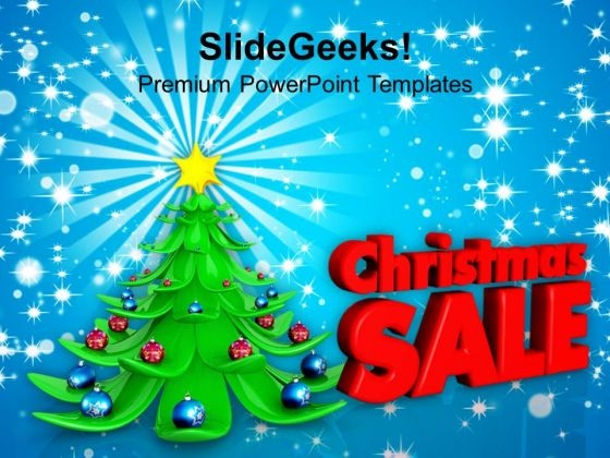 Sale On Christmas Events Shopping PowerPoint Templates Ppt Backgrounds For Slides 1112