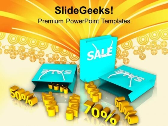 Sale Online Discounts And Shopping PowerPoint Templates Ppt Backgrounds For Slides 0513