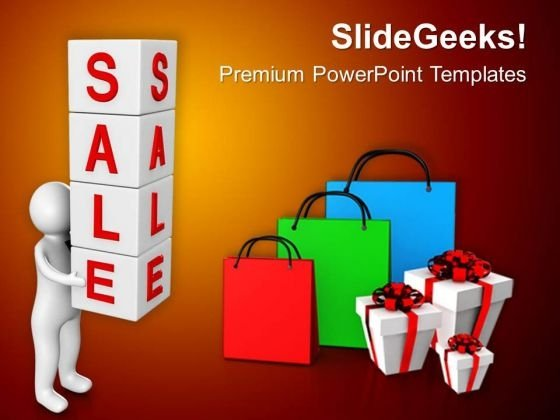 Sale Season Is Best For Shopping PowerPoint Templates Ppt Backgrounds For Slides 0713
