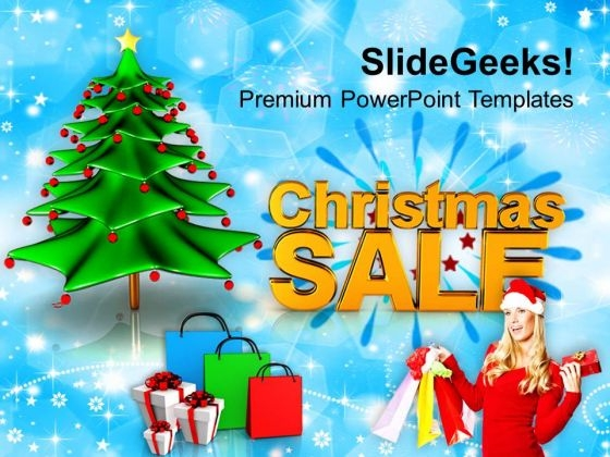 Sale Shopping Winter Holidays PowerPoint Templates Ppt Backgrounds For Slides 1112