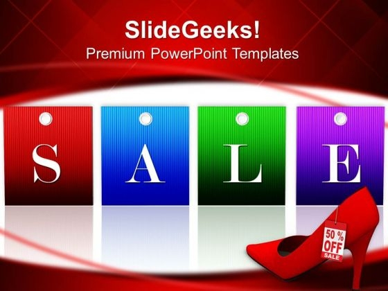 Sale Tag Lifestyle PowerPoint Templates And PowerPoint Themes 0712