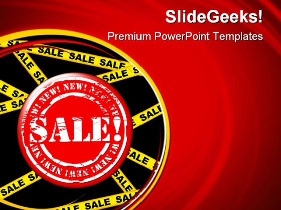 Sale Tag Marketing PowerPoint Themes And PowerPoint Slides 0811