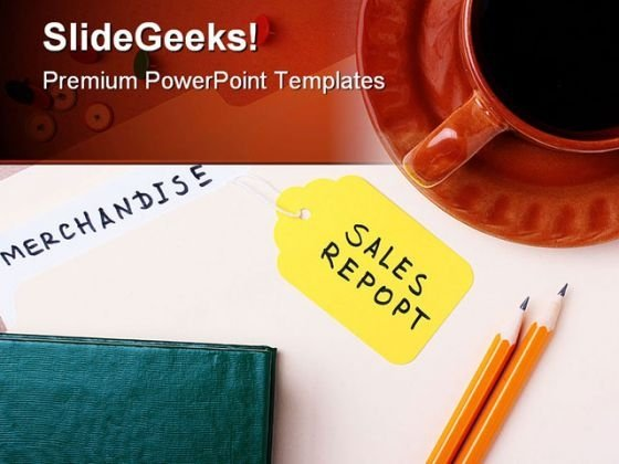 Sales Report Sales PowerPoint Backgrounds And Templates 0111