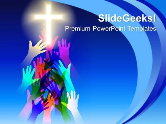 Salvation Religion PowerPoint Templates And PowerPoint Themes 0712