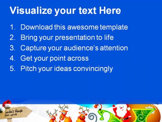 santa_house_signpost_holidays_powerpoint_themes_and_powerpoint_slides_0811_text