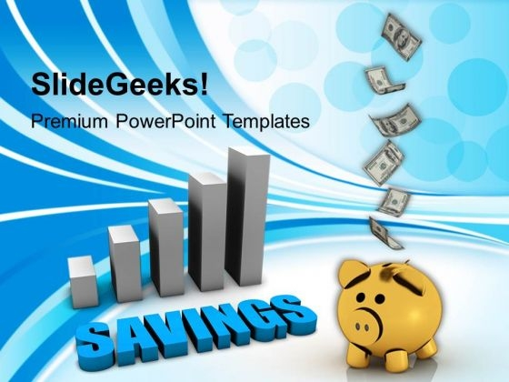 Save Money Business PowerPoint Templates And PowerPoint Themes 1112