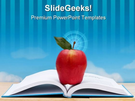 School Book Education PowerPoint Backgrounds And Templates 1210