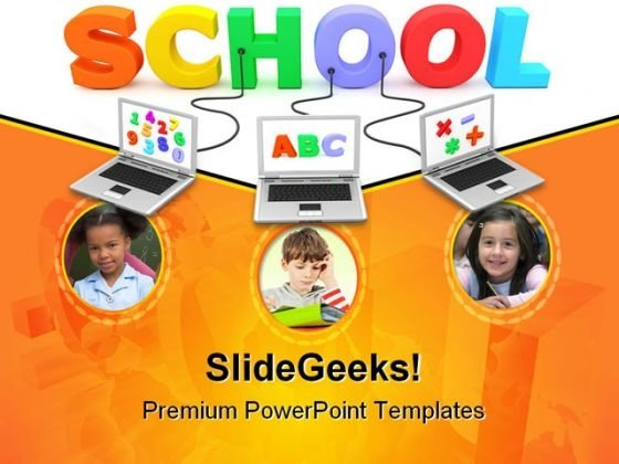 School Children Education PowerPoint Templates And PowerPoint Backgrounds 0111