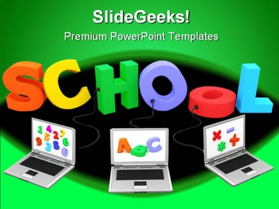School Education PowerPoint Backgrounds And Templates 1210