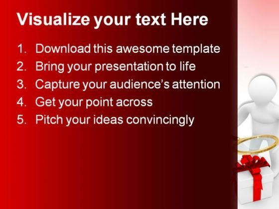 Search Of Gifts Technology PowerPoint Themes And PowerPoint Slides 0211