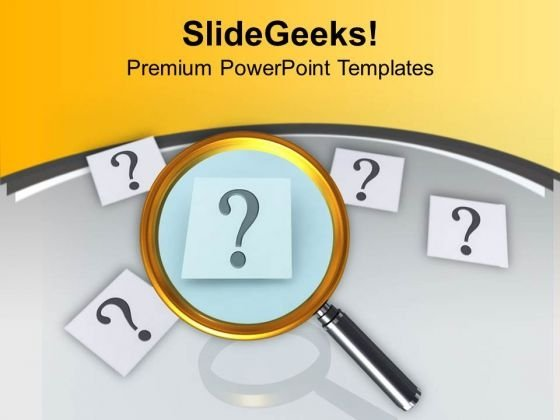 Search The Right Part Of Solution PowerPoint Templates Ppt Backgrounds For Slides 0813