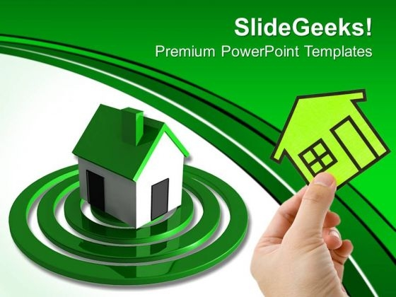 Searching For Home Real Estate PowerPoint Templates And PowerPoint Themes 0612