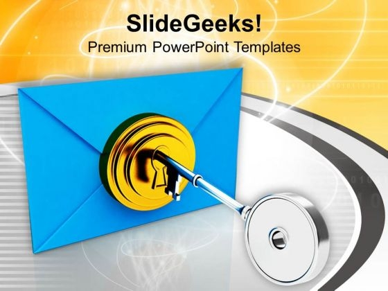 Secure Your Internet Data PowerPoint Templates Ppt Backgrounds For Slides 0713