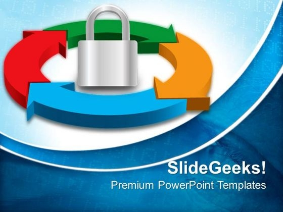 Security Process Success PowerPoint Templates And PowerPoint Themes 0512
