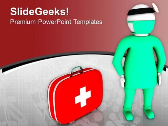 See Your Doctor For Medical Help PowerPoint Templates Ppt Backgrounds For Slides 0713