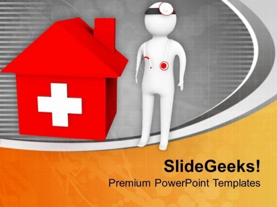 Seek Help In Medical Emergency PowerPoint Templates Ppt Backgrounds For Slides 0813