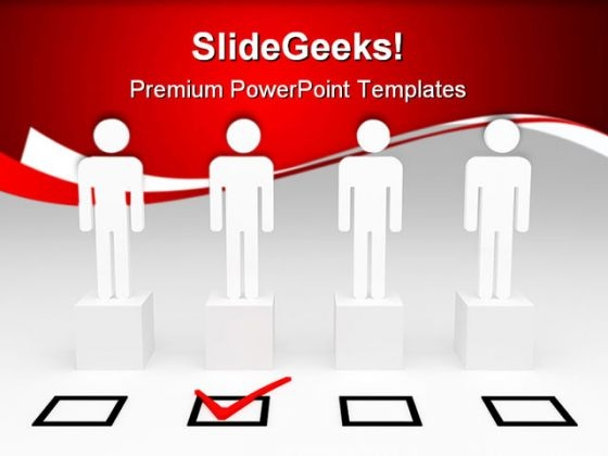 Select Right Person For Job Business PowerPoint Templates And PowerPoint Backgrounds 0411