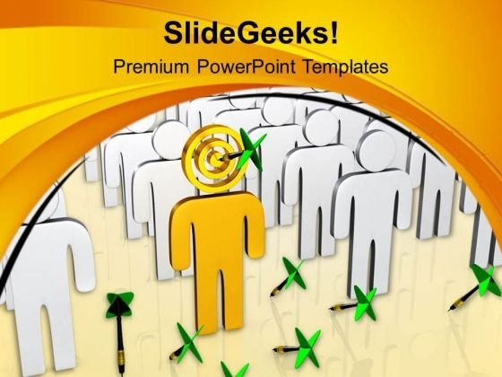 Select Right Person For Task PowerPoint Templates Ppt Backgrounds For Slides 0713