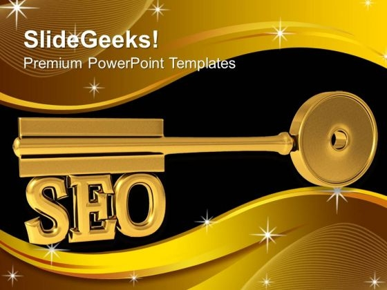 Seo Key Business Communication PowerPoint Templates And PowerPoint Themes 1112