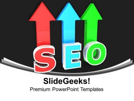 Seo Marketing Arrows PowerPoint Templates And PowerPoint Themes 1012