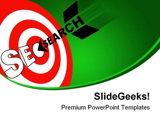 Seo Search Business PowerPoint Templates And PowerPoint Backgrounds 0611