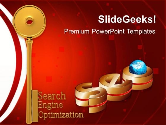 Seo Search Globe PowerPoint Templates And PowerPoint Themes 1112