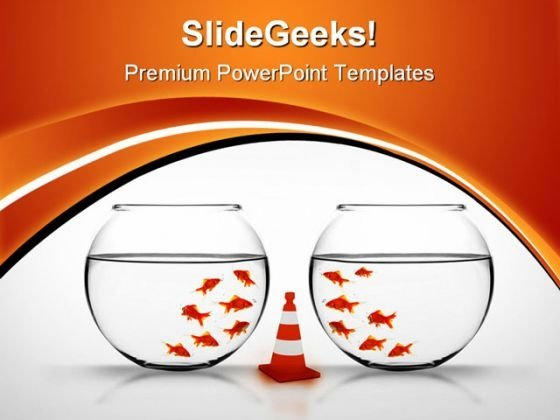 Separation Business PowerPoint Themes And PowerPoint Slides 0411