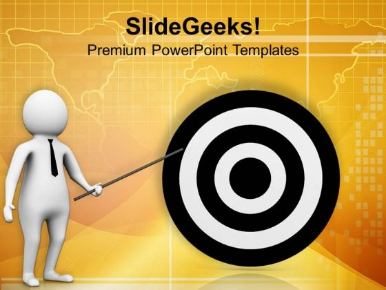 Set And Achieve Targets PowerPoint Templates Ppt Backgrounds For Slides 0713