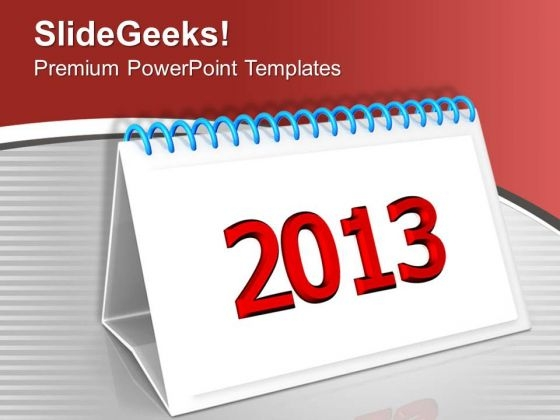 Set Monthly Targets This New Year PowerPoint Templates Ppt Backgrounds For Slides 0413