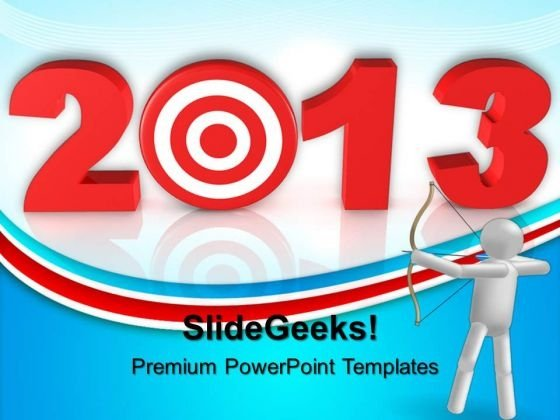 Set The Target Business PowerPoint Templates And PowerPoint Themes 0612