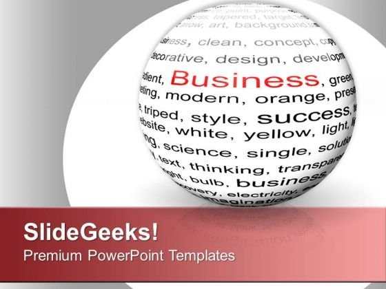 Setting Up The Business PowerPoint Templates Ppt Backgrounds For Slides 0613