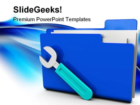 Settings Folder Security PowerPoint Templates And PowerPoint Backgrounds 0211