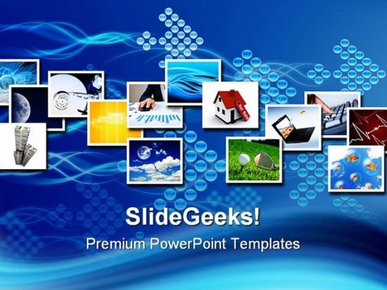 Several Images Business PowerPoint Themes And PowerPoint Slides 0511