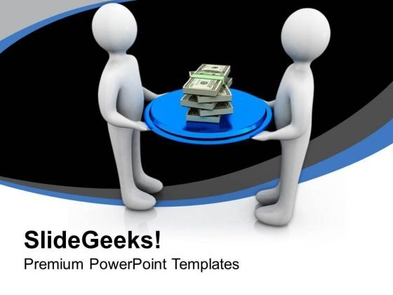 Share Financial Growth With Partners PowerPoint Templates Ppt Backgrounds For Slides 0613