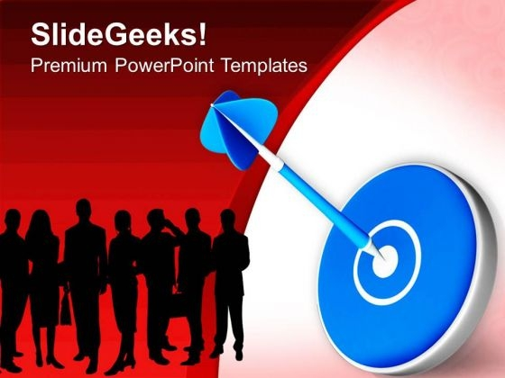 Share Targets With Team PowerPoint Templates Ppt Backgrounds For Slides 0513