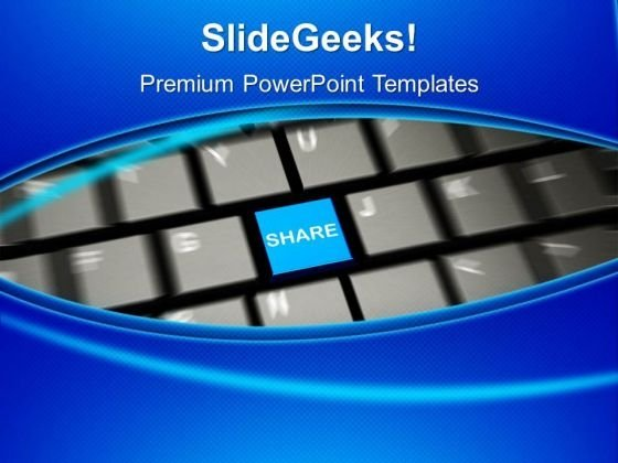 Share The Knowledge PowerPoint Templates Ppt Backgrounds For Slides 0513