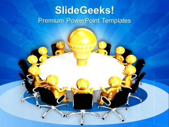 Sharing Ideas Is Very Good PowerPoint Templates Ppt Backgrounds For Slides 0713