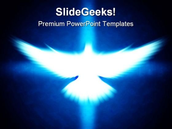 Shining Dove Religion PowerPoint Templates And PowerPoint Backgrounds 0211