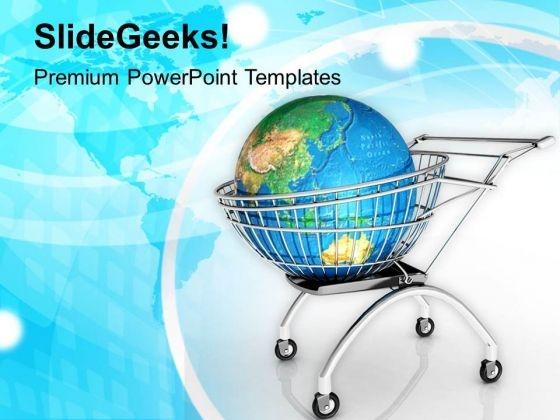 Shop For International Brands PowerPoint Templates Ppt Backgrounds For Slides 0413