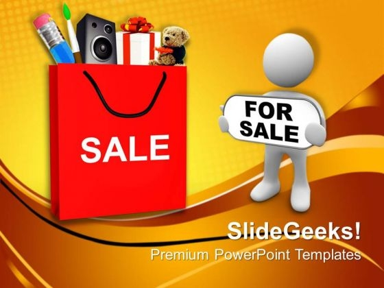 Shopping Red Bag Carry Sale Abstract Shopping PowerPoint Templates Ppt Backgrounds For Slides 0113