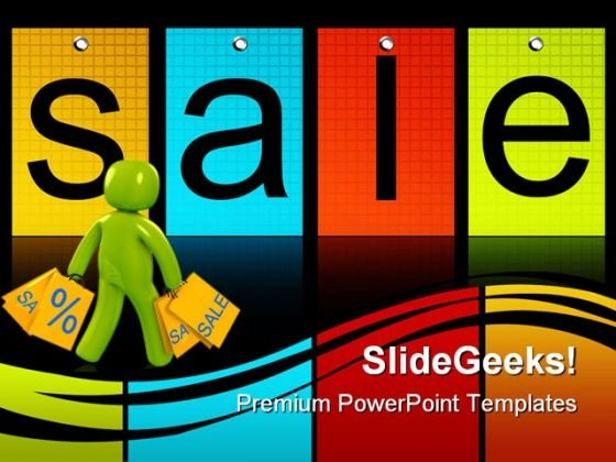 Shopping Sales PowerPoint Themes And PowerPoint Slides 0811